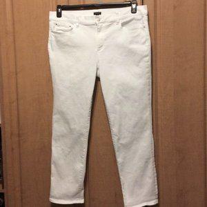 Ann Taylor Jeans Sz 16 White